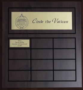 circle the vatican race