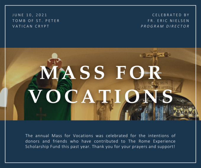 MASS FOR VOCATIONS (2)